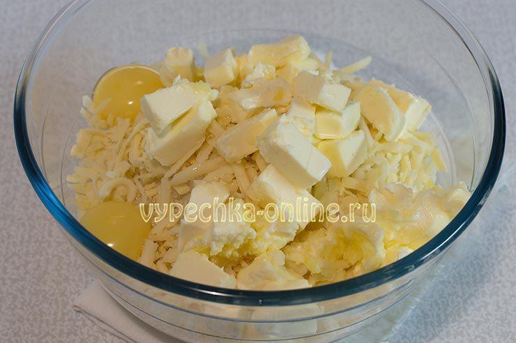 Замес картофельного теста