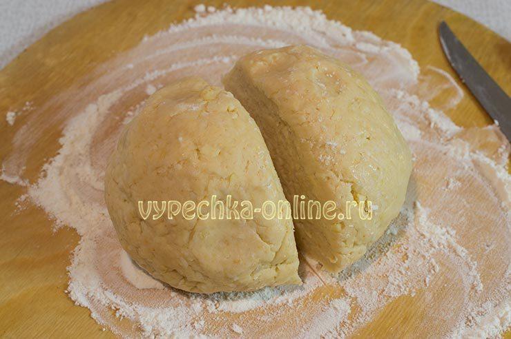 Тесто для слоек с сыром