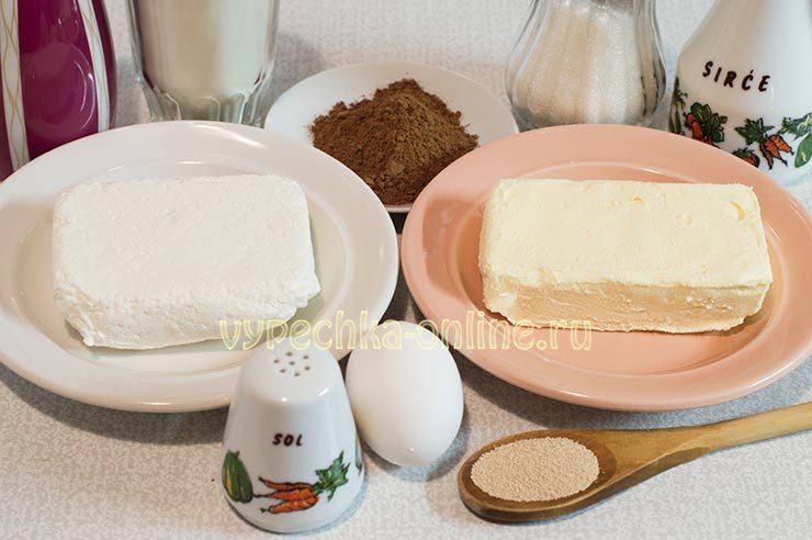 Ингредиенты для дрожжевого пирога
