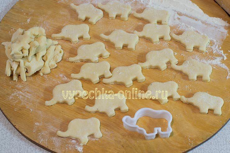 Печенье из творога простое