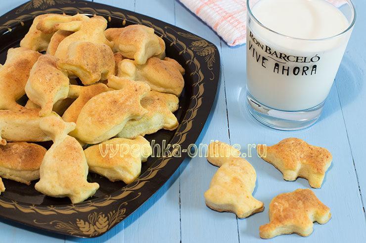 Печенье из творога простой рецепт