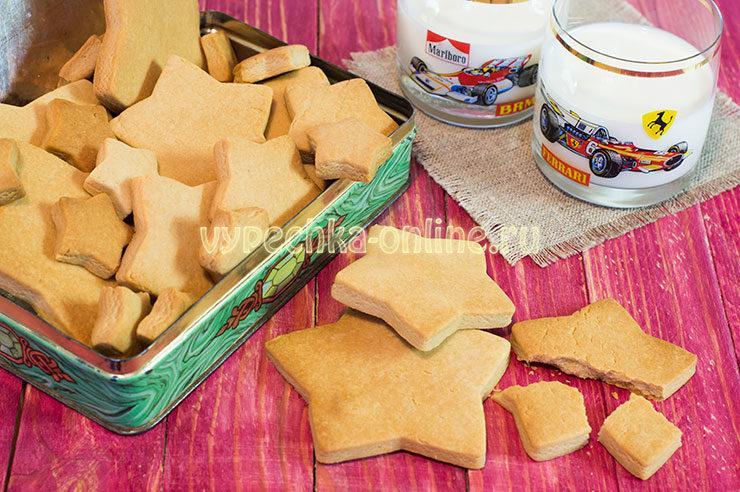 Печенье с вареной сгущенкой рецепт