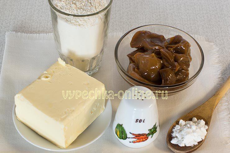 Ингредиенты для печенья со сгущенкой