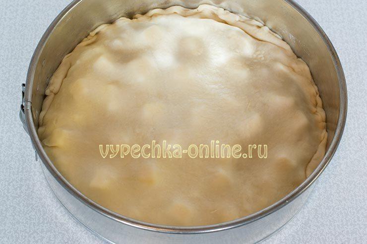Пирог с 2 начинками