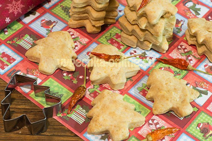 Постное печенье на скорую руку новогодний рецепт в домашних условиях