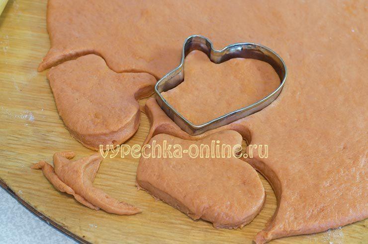 Постное новогоднее печенье