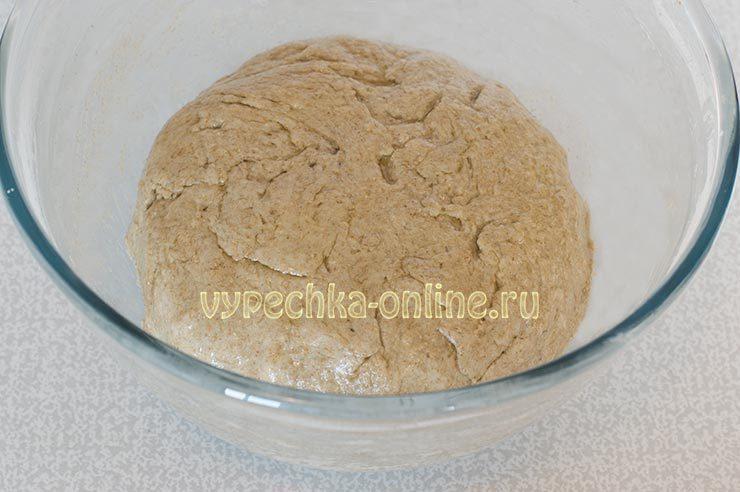 Пшенично-ржаное тесто