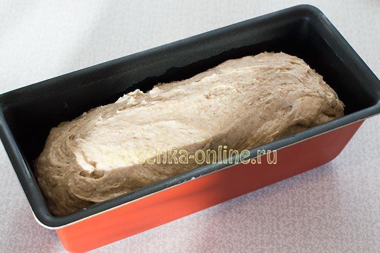 Пшенично-ржаной хлеб в духовке рецепт с фото