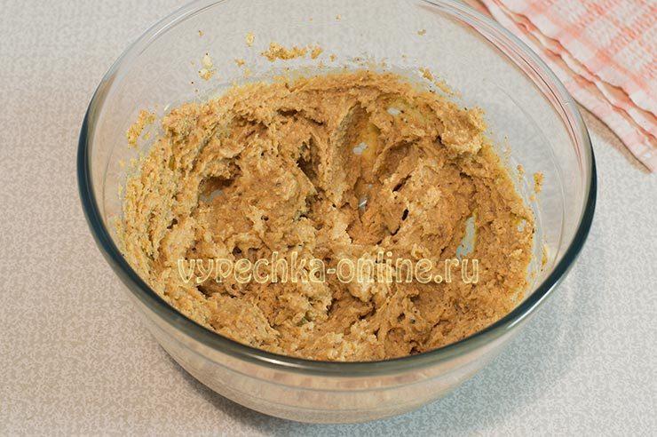 Тесто на ореховое печенье