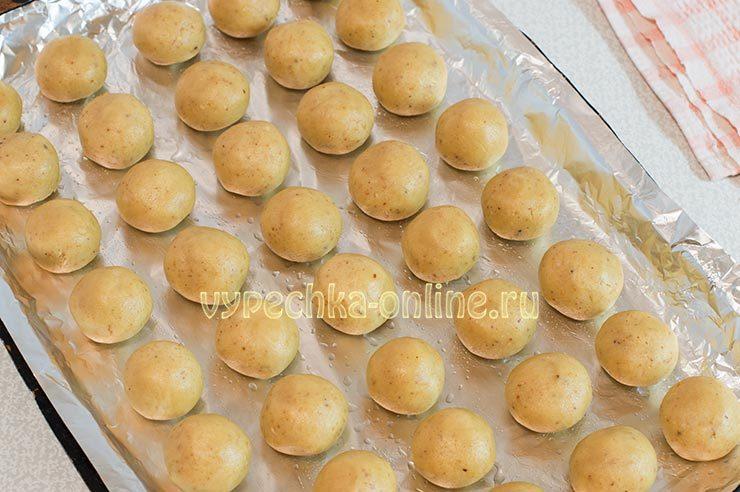 Печенье шарики