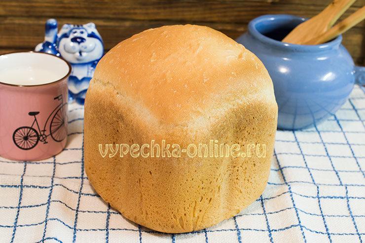 Белый хлеб в хлебопечке рецепт простой и вкусный: как испечь воздушный хлеб