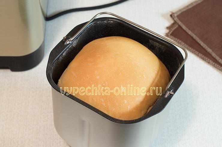 Белый хлеб в хлебопечке рецепт простой и вкусный