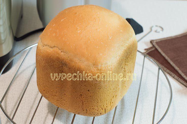 Как сделать хлеб в хлебопечке