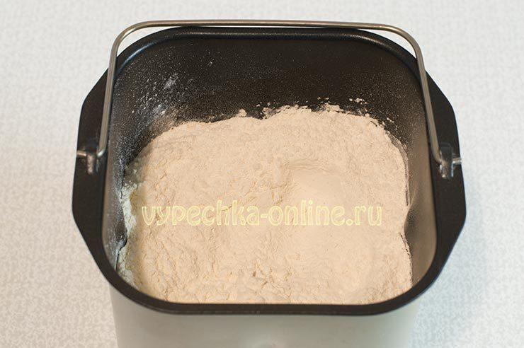 Простой хлеб в хлебопечке