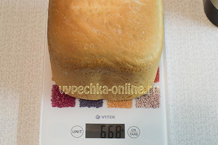 Рецепт белого хлеба в хлебопечке в домашних условиях с сухими дрожжами