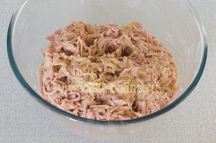 Приготовление картофельных драников