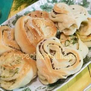 Начинки для булочек из дрожжевого теста в духовке