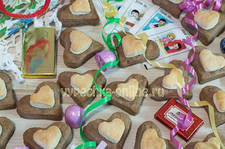 Рецепт печенья на день влюбленных