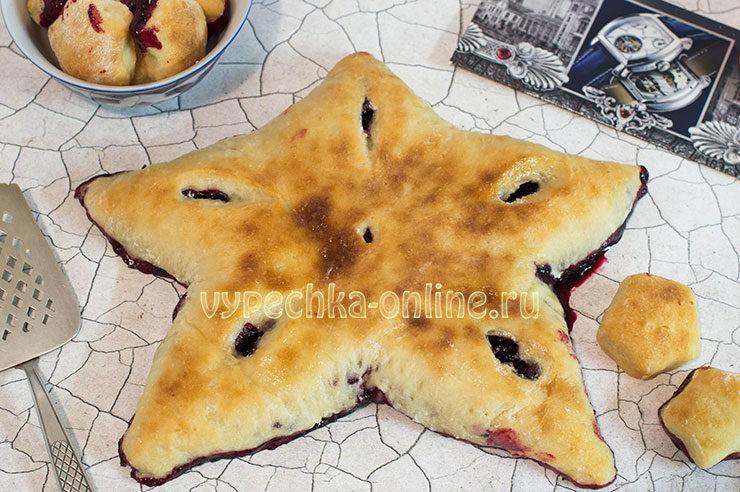 Пирог на 23 февраля своими руками – оформление в виде звезды, рецепт с фото