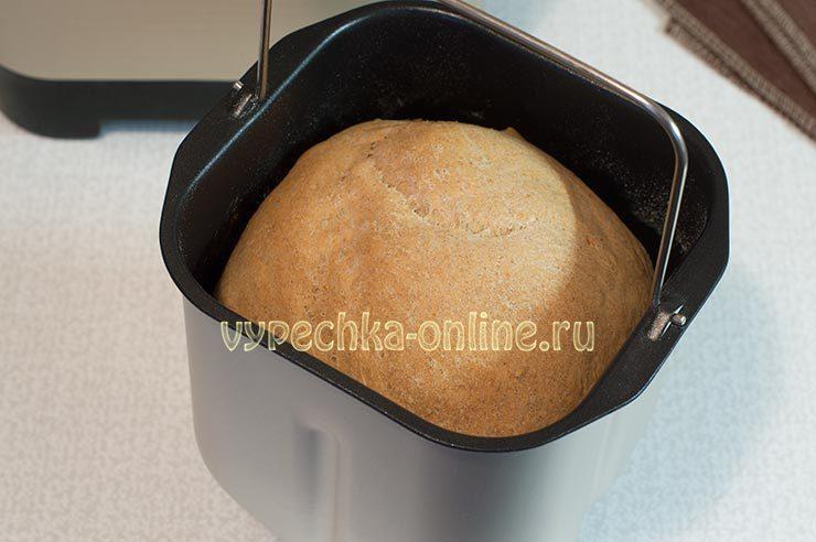 Хлеб с ржаной мукой в хлебопечке