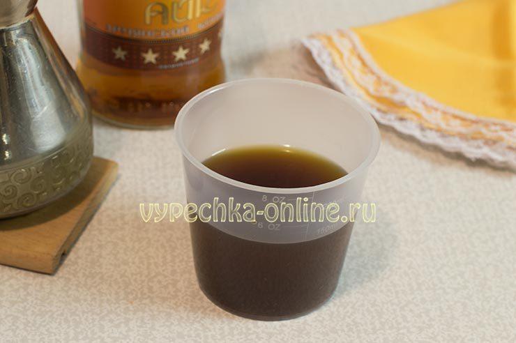 Пропитка для коржей и кофе и коньяка