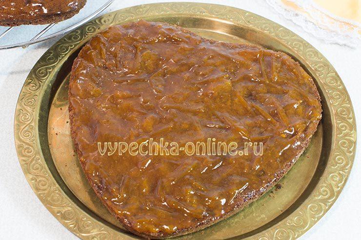 Конфитюр для торта Захер
