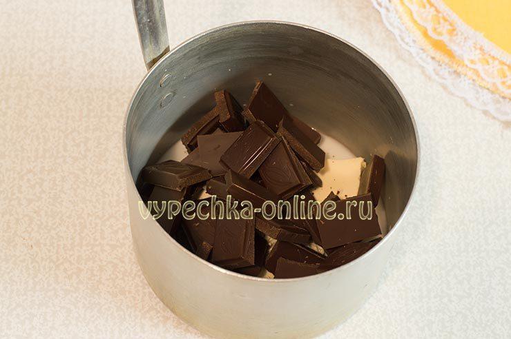Домашняя шоколадная глазурь