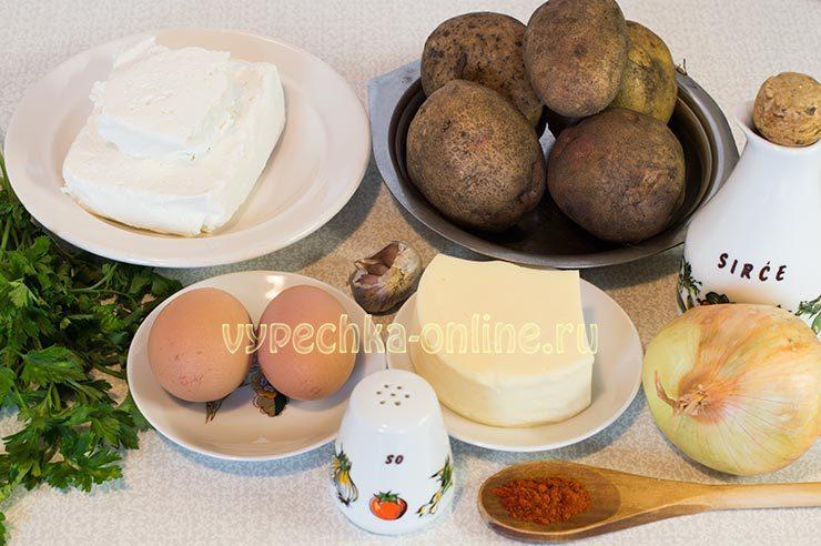 Ингредиенты для картофельных котлет