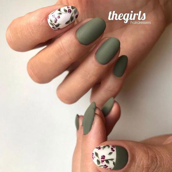 весенний маникюр дизайн ногтей
