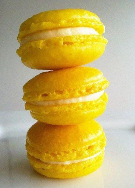 Лимонные пироженки
