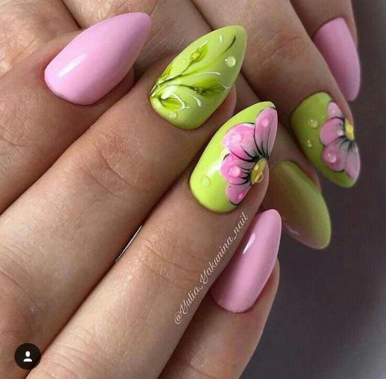 маникюр весна 2019 модные тенденции фото самый красивый дизайн ногтей