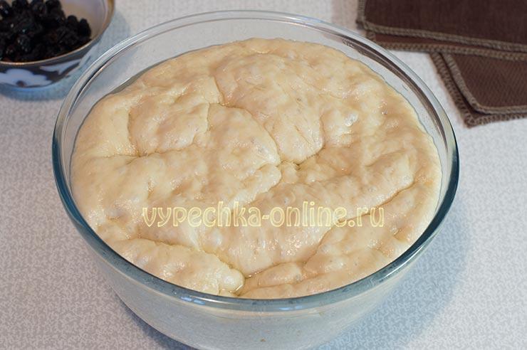 Постное дрожжевое тесто для булочек на сухих дрожжах