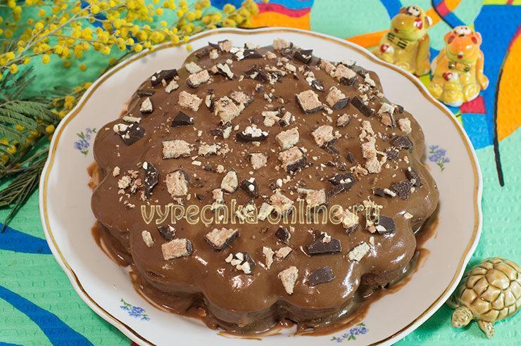 Торт Бригадейро крем для торта на сгущенке
