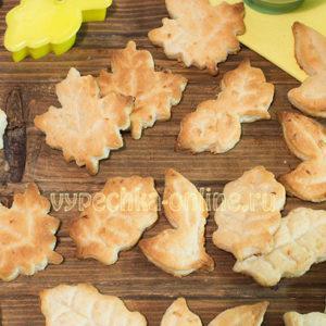 Печенье с лимоном и цедрой постное простой рецепт с фото