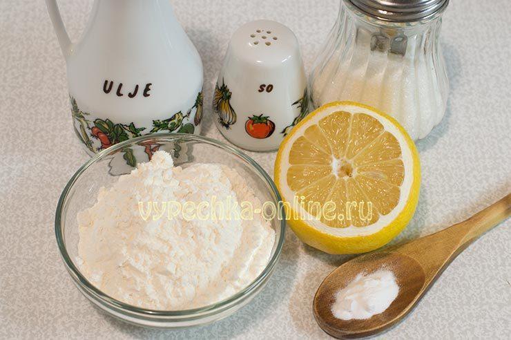 Из чего сделать постное печенье