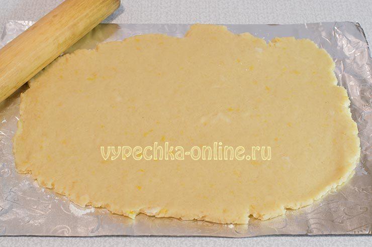 Печенье с лимонной цедрой рецепт