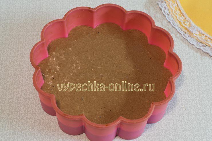 Бисквит на кипятке в духовке