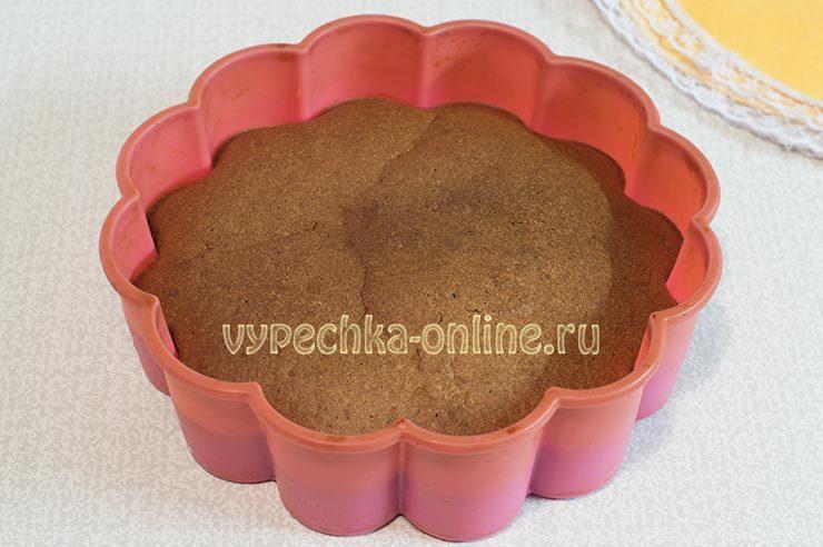 Шоколадный бисквит в духовке
