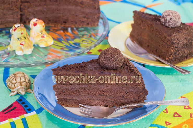 Шоколадный торт на кипятке с шоколадным кремом рецепт с фото пошагово: бразильский Бригадейро (Brigadeiro)