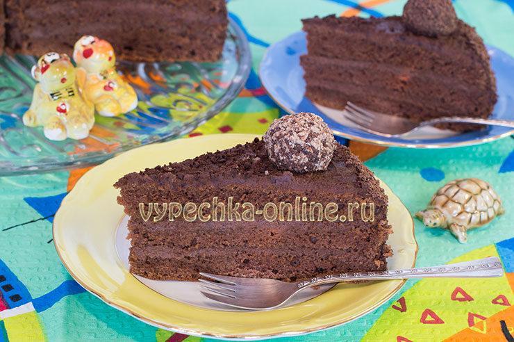 Бразильский шоколадный торт brigadeiro рецепт с фото пошагово в домашних условиях
