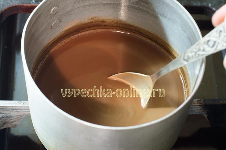 Варка какао