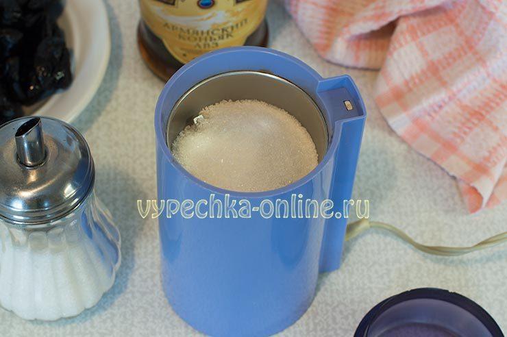 Сахар в кофемолке