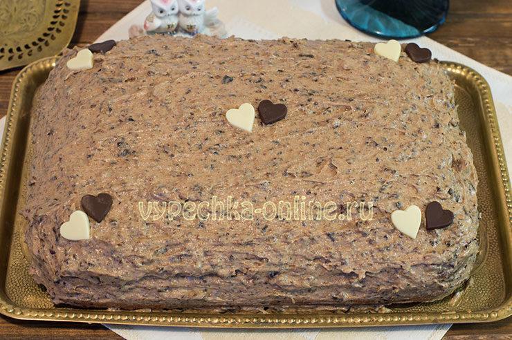 Сметанный крем для торта в домашних условиях с черносливом