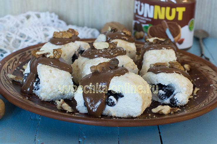 Творог с изюмом: творожный десерт без выпечки