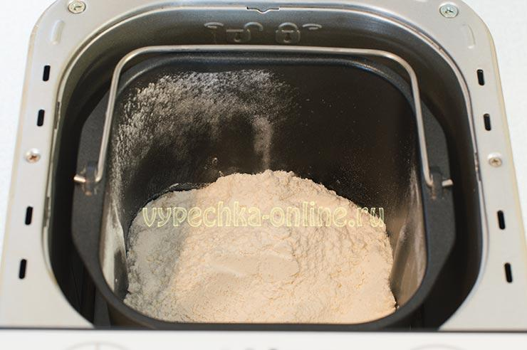 Тесто на кулич в хлебопечке