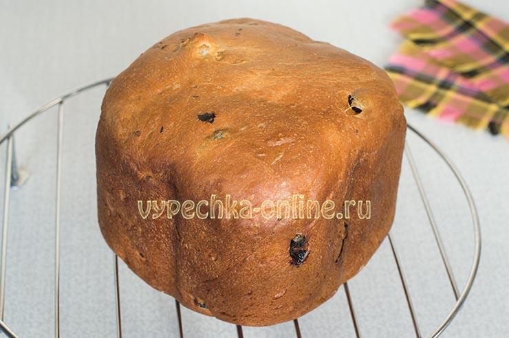 Приготовление кулича в хлебопечке