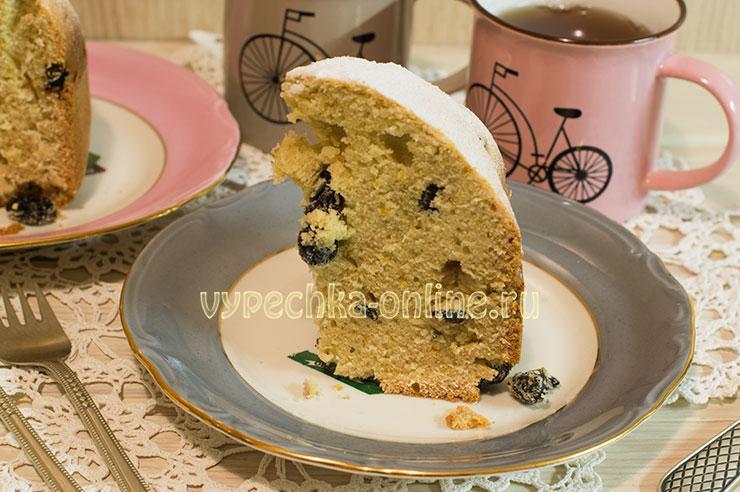 Лимонный кекс с изюмом в хлебопечке: рецепт с фото пошагово