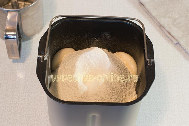 Приготовление кекса в хлебопечке