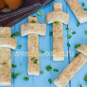 Печенье Кресты постное на рассоле, рецепт выпечки на Крестопоклонной неделе