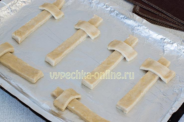 Рецепт крестов на крестопоклонную неделю